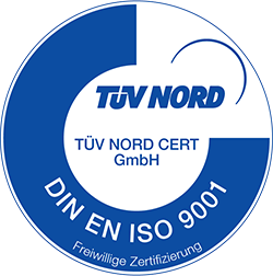 TÜV Nord - DIN ISO 9001:2015