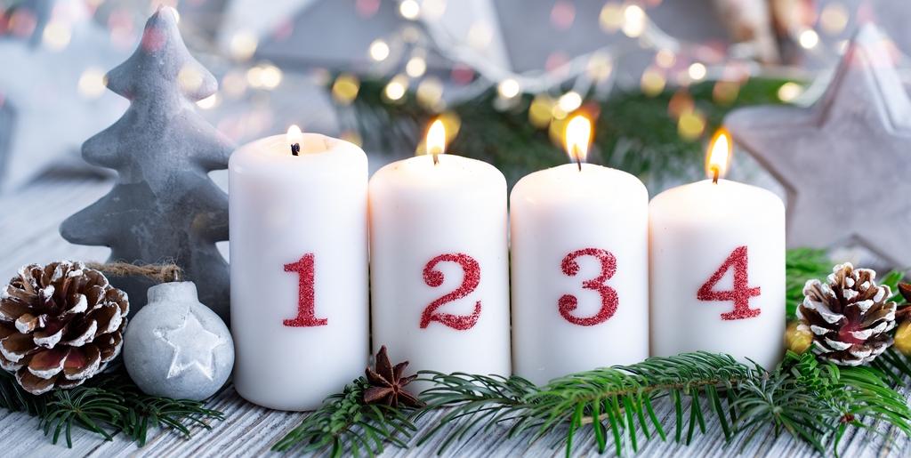 Bald ist es soweit – die vierte Kerze brennt