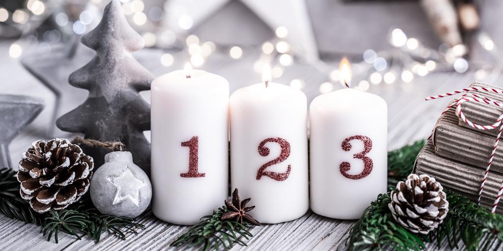 Die nächste Kerze brennt – Einen schönen dritten Advent